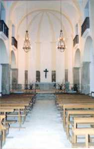 Inside of the Sanctuary restored in 1998